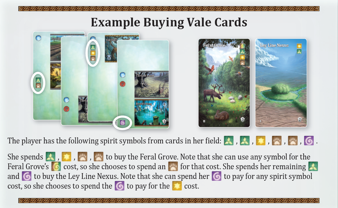 Yucata - Rules for the game 'Mystic Vale'