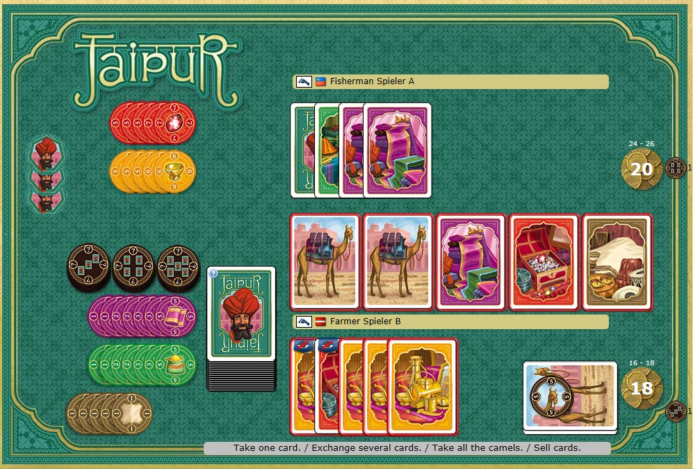 Yucata - Play Jaipur online for free!
